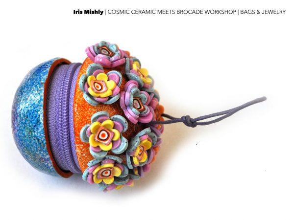 Cosmic Ceramic Meets Brocade - Iris Mishly_6