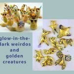Glow-in-the-dark Weirdos and Golden Creatures with Christi Friesen