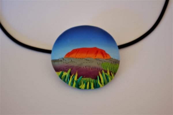 Painted Pendant - Pam Annesley_2