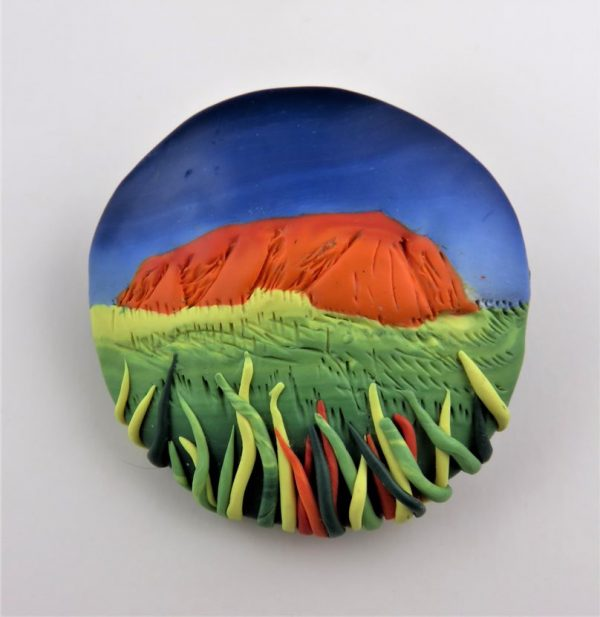 Painted Pendant - Pam Annesley_3