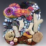 Polymer & Mixed Media Mosaic Assemblages - Christi Friesen_6